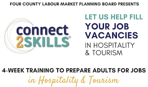 connect2SKILLS Looking for Employers in Tourism Industry