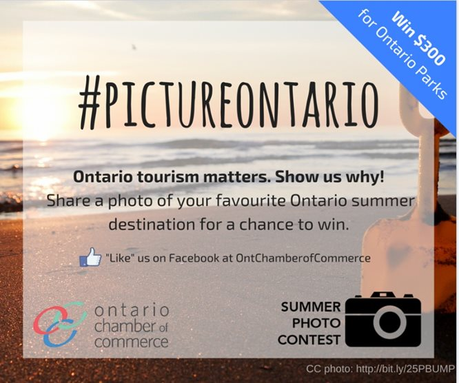 Ontario Chamber of Commerce Launches Tourism Photo Contest