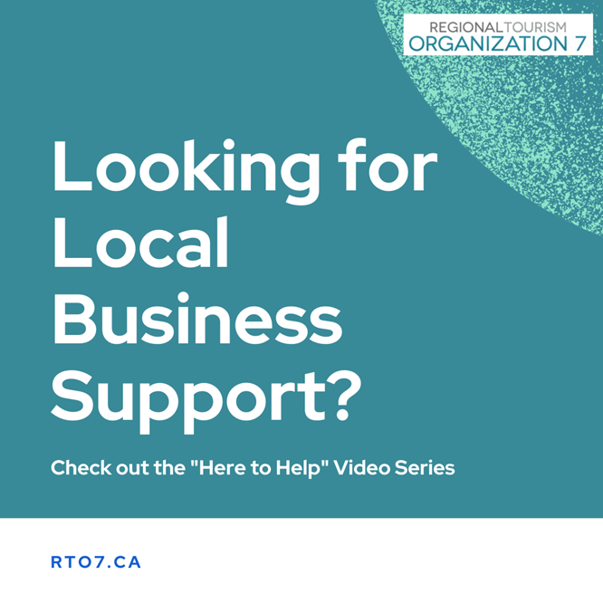 Looking for Local Business Support?