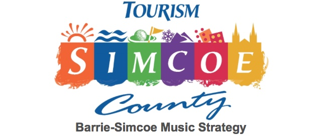 Simcoe County, with Barrie, Collingwood and Orillia announce the development of a three-year Music Strategy