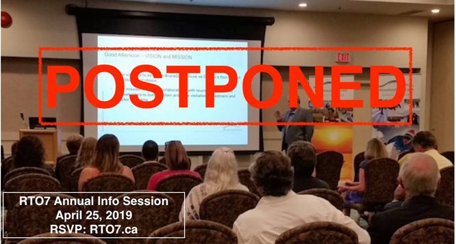 POSTPONED - Annual RTO7 Information Session