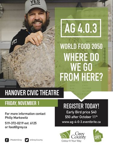 AG 4.0.3 - World Food 2050: Where Do We Go From Here?